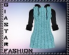 Hoodie Sweater Dress-Tea