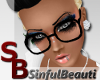 [SB] Nerd Glasses Black