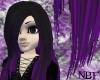 Black/purple designer