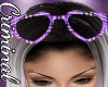 Princess Glasses Purple