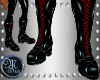 (MSis)Latex Biker Boots