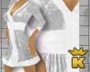 {K} Silver Short Dress
