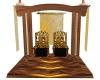 Royal Golden Throne