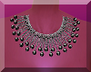 *A*Black Diamond Necklac