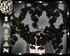 (MI) Black roses horns