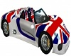 uk car with poses