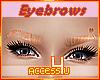 ! Female Ginger Eyebrows