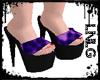 L:LG Heels-Wild Purple