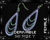 D| Beaded Earrings
