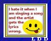 LDD-Word Sticker Singing