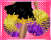 Kids Lakers PomPoms