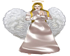 winged angel dress