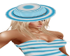 Blue Stripe Hat