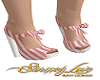 Candy Stripe Heels V2