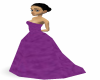 JB~ PURPLE WEDDING DRESS