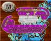 (M)]Purple Section Sofa