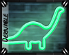 o: Neon Dinosaur