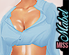 ! Sultry Blouse Blue