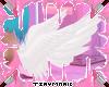 Cute White Angel Wings