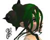 GF-Dark Green Stacy Hair