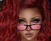 Purple Glasses Pink Lens