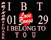 I BELONG 2 YOU /LOVESONG