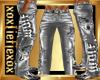 [L] Gray WOLF Pants M