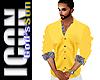 ICON  Yellow Dress Shirt