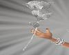 ~CR~R hand diamond rose.