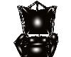 Black PVC Throne