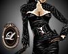 LIZ leather and fur set
