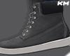 KM - Grey Shoes