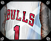Bulls 1 White
