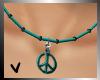 [ves] peace turquoise