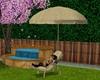 Seagrass Garden Parasol