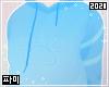 Paw hoodie | Blue