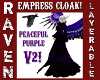 CLOAK PEACEFUL PURPLE V2