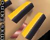 [MrsT] Nails Silv/Yellow