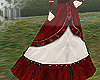m> Victorian Skirt Red