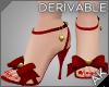 ~AK~ Hearts & Bows Heels