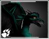 WS ~ Teal n Black Dragon