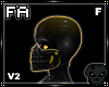 (FA)NinjaHoodFV2 Gold
