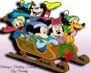 Christmas Mickey Cutout