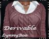*Derivable Sweater