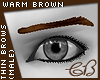 Thin Brows - Warm Brown