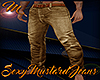 [M] Sexy Mustard Jeans