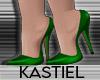 K| Sannie Pumps Green