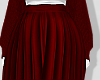 L . Red Skirt
