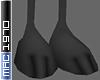 Cartoon Panther Feet