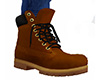 Brown Work Boots 5 (M)